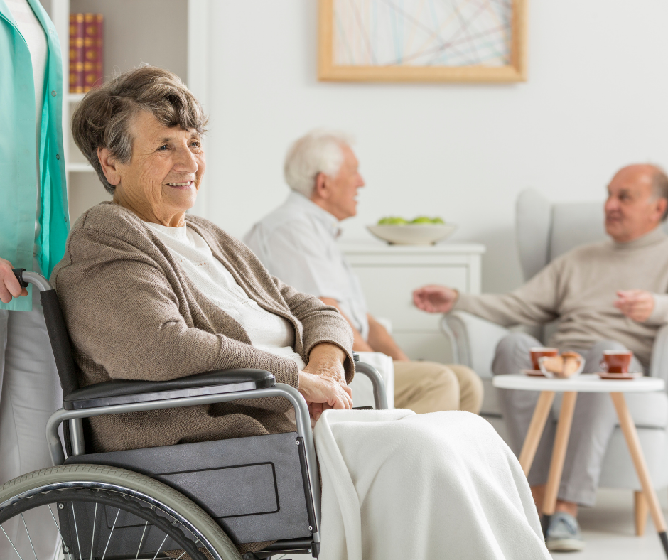 Elderly in Wheelchair Estate Planning Protect Your Assets