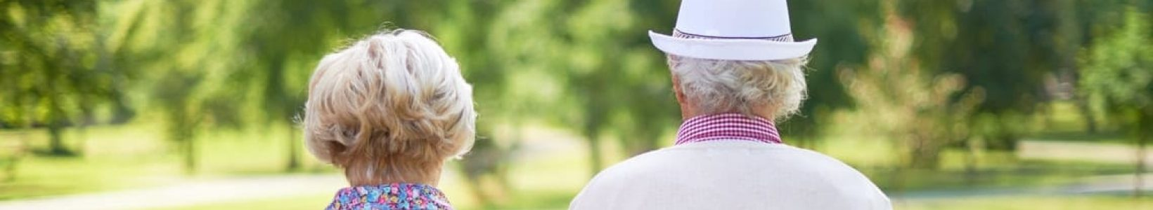 retirement planning tips couple walking park